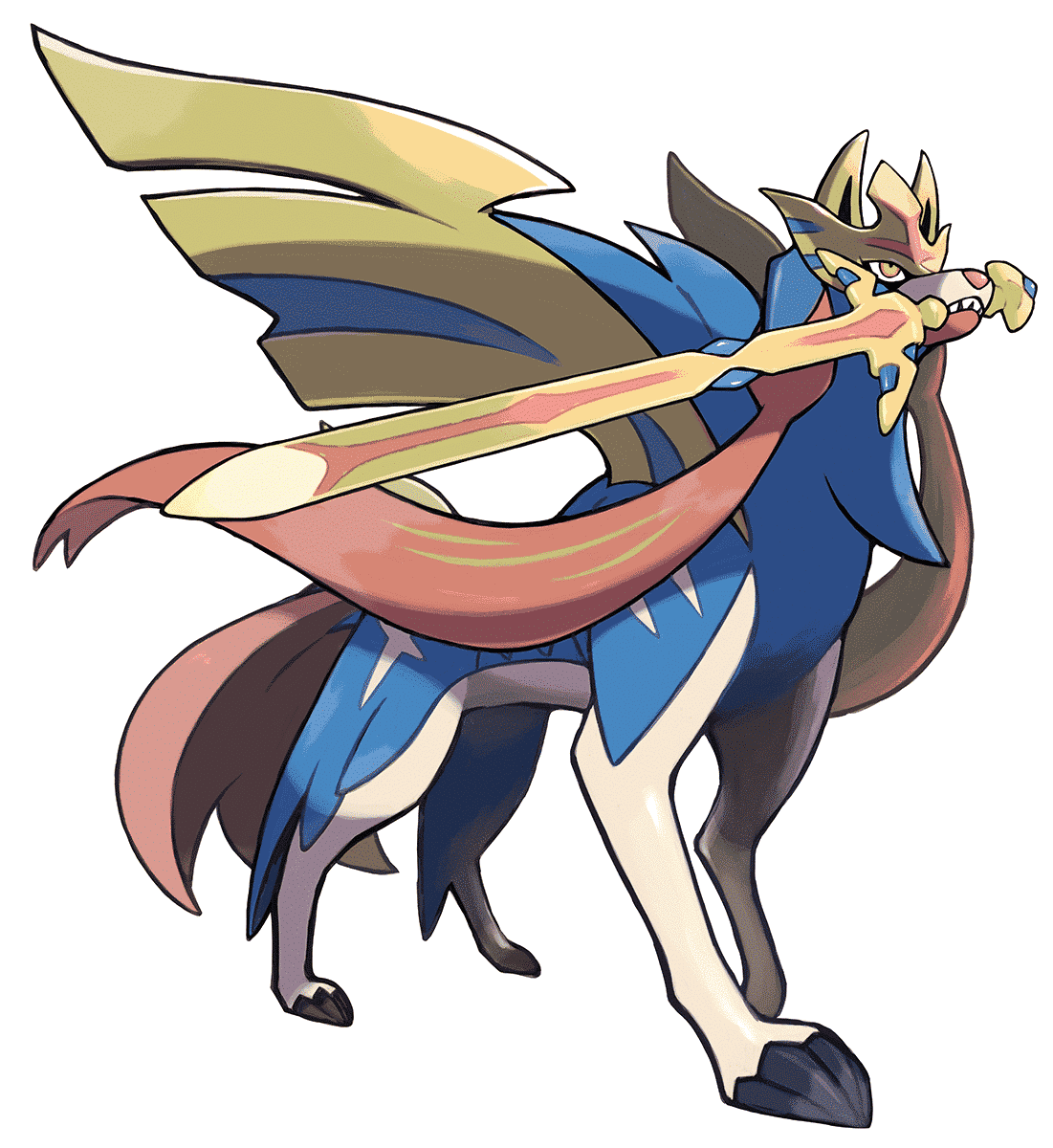 An image of Zacian
